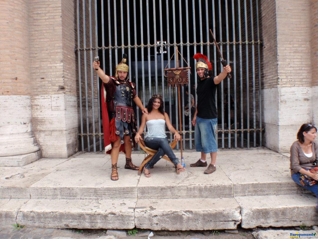 En el coliseo romano