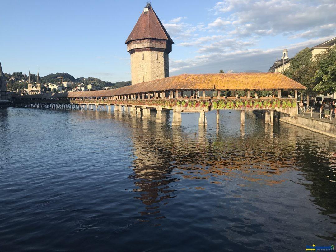 ponte de madeira – Kapellbrucke