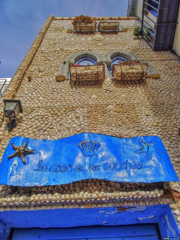 a casa das conchas