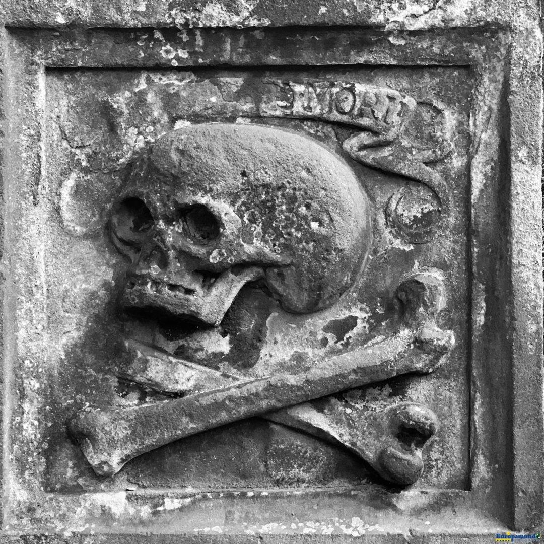 Símbolo de la peste negra