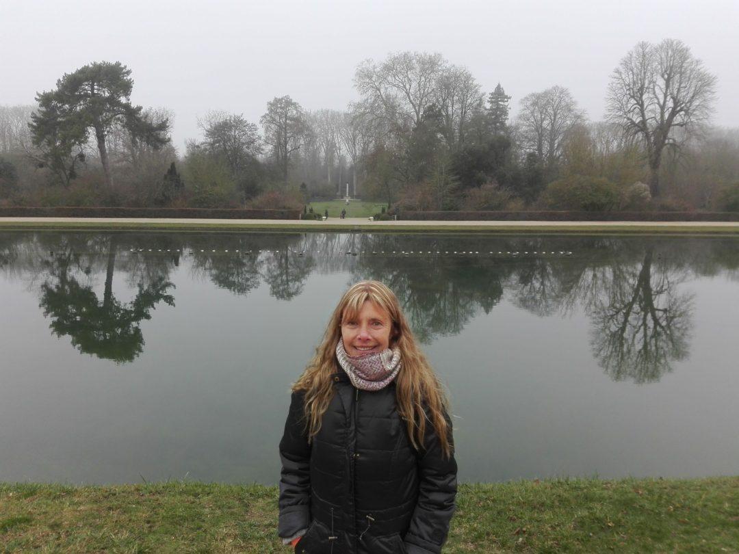 Palacio de Versalles Basin du miroir Alle de l'Hiver Jardín du roi