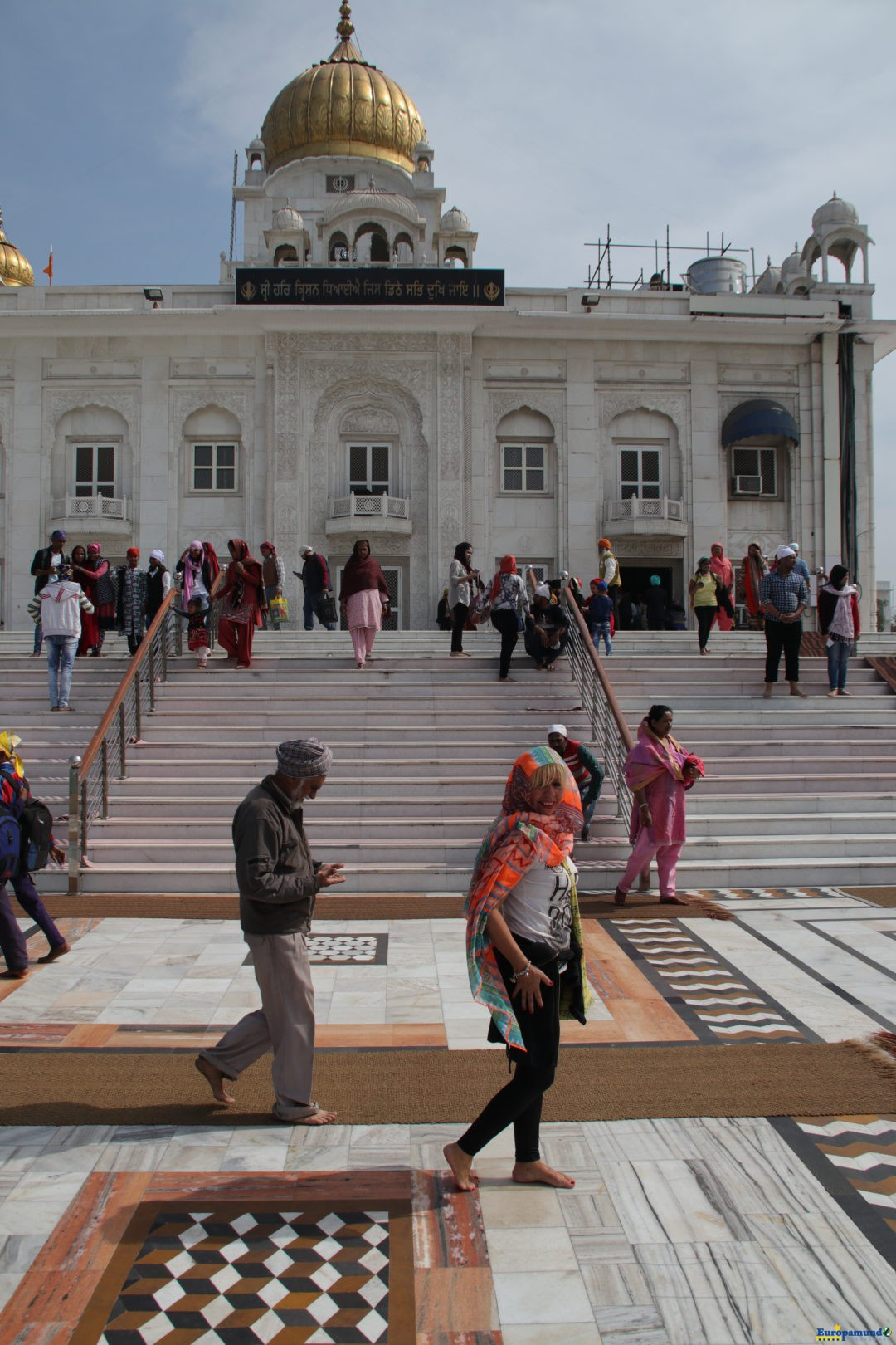 Templo Sikh de Delhi – Gurudwara Bangla Sahib