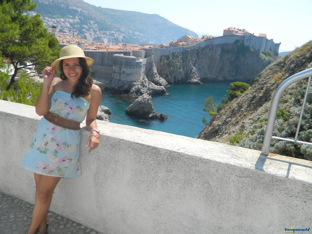 Calurosa ciudad de Dubrovnik