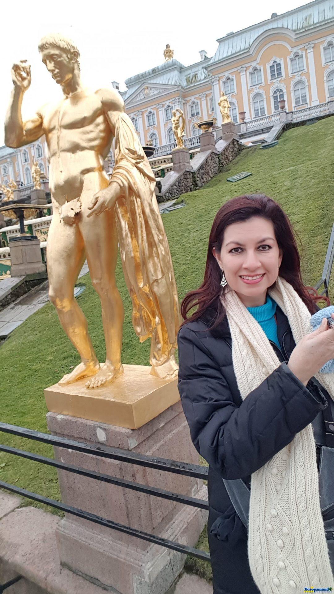Palacio de Peterhof. , San Petersburgo.
