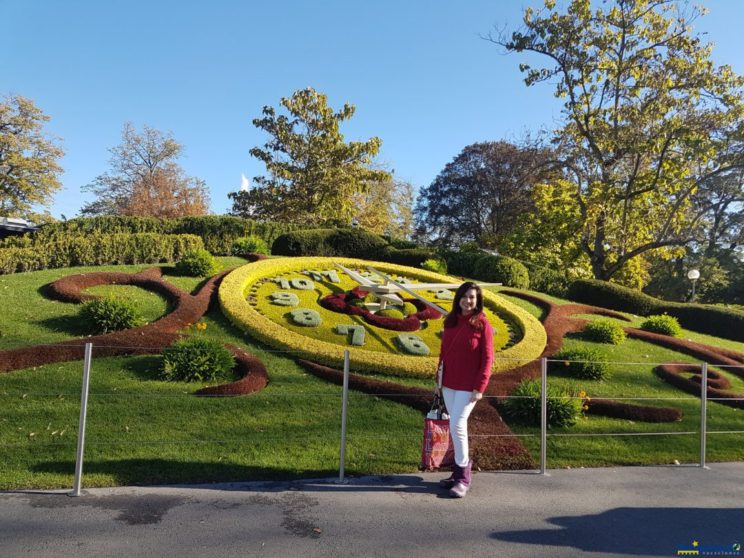 Reloj de las flores ,Ginebra. Suiza.