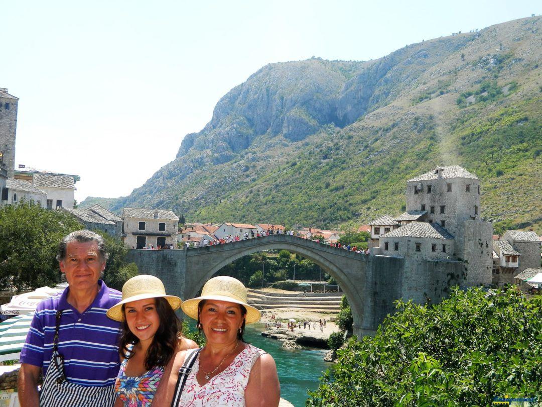El puente viejo de Mostar