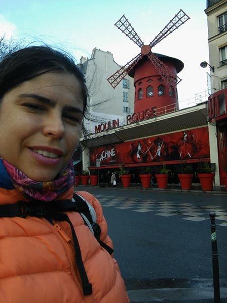 En el Molino Rojo en Paris