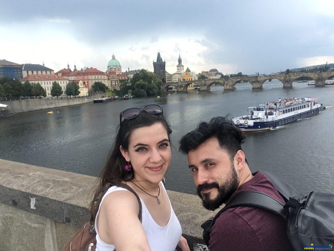 Selfie en Praga