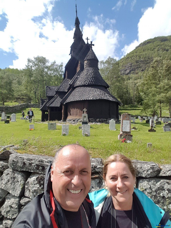 Igreja de madeira viking