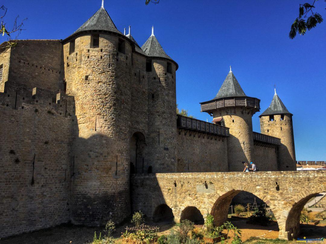 Castillo de Carcasonne, Francia
