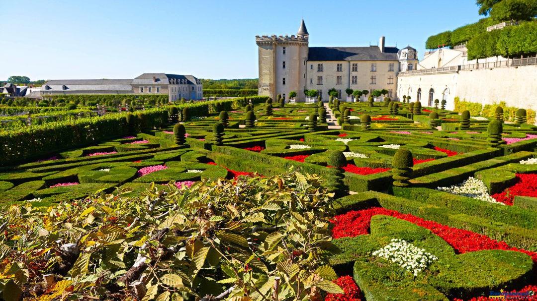 Castillo de Villandry, Francia.