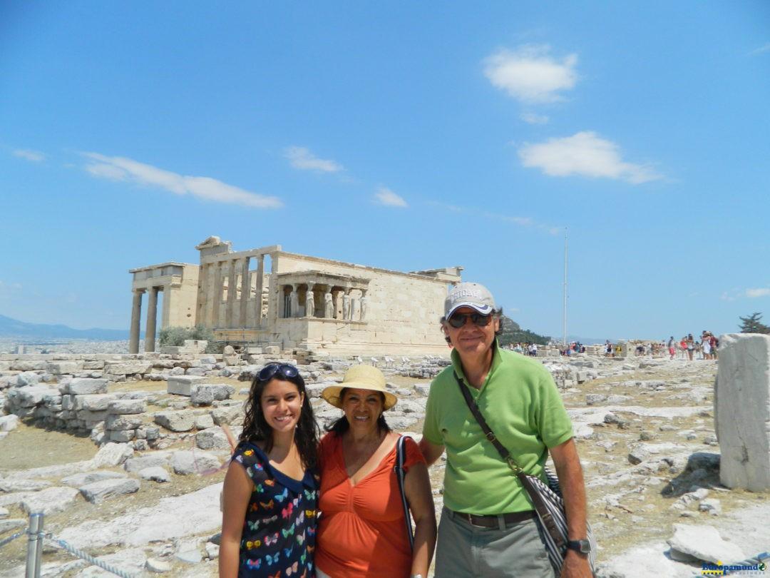 Familia en Atenas